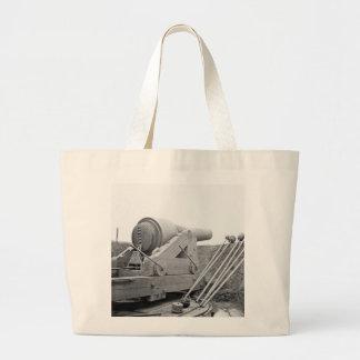 Columbiad Gun: 1865 Jumbo Tote Bag