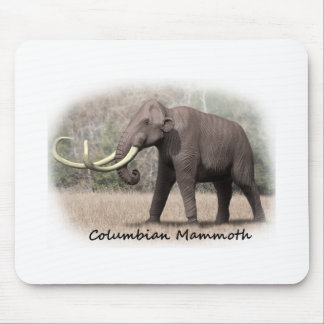 Columbian Mammoth Mouse Pad