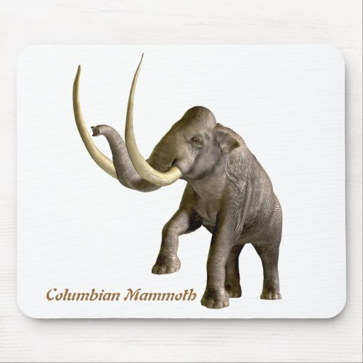 Columbian Mammoth Mousepad