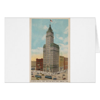 Columbian Mutual Tower, Memphis Tennessee Card
