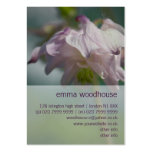 Columbine | Akelei Large Business Cards (Pack Of 100)