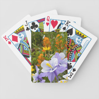 Columbine and Friends Bicycle Playing Cards