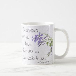Columbine Bouquet Basic White Mug