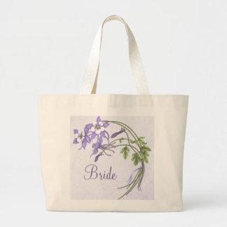Columbine Bouquet Tote Bag