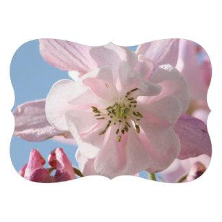 Columbine Flowers Personalized Invitation