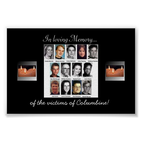 Columbine memory poster