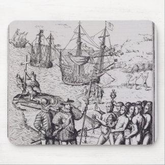 Columbus at Hispaniola 2 Mouse Mat