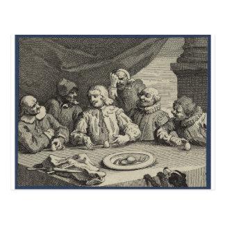 Columbus Breaking the Egg (Christopher Columbus) Postcard