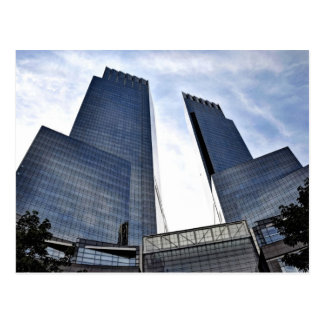 Columbus Circle Towers by Central Park Postcard