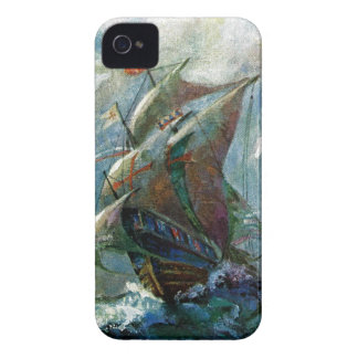 Columbus Day iPhone 4 Case-Mate Case