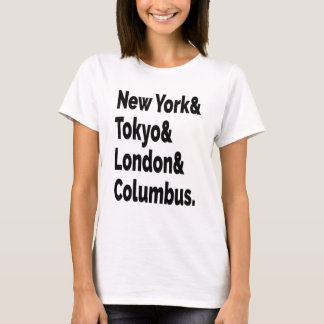 Columbus Hometown T-shirt