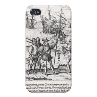 Columbus in What Was First Called India iPhone 4 Cases