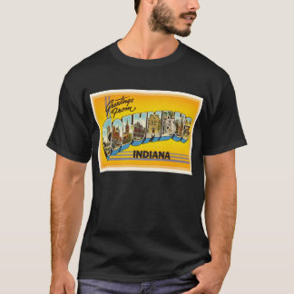 Columbus Indiana IN Old Vintage Travel Souvenir T-Shirt
