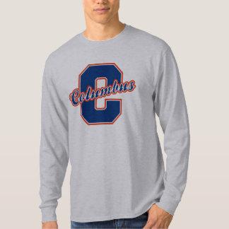 Columbus Letter T-Shirt