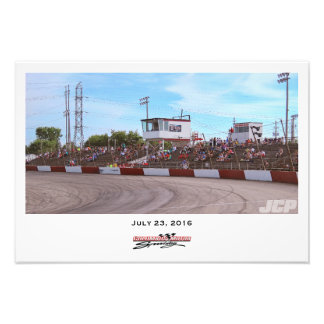 Columbus Motor Speedway Front Stretch Tower Photo Print