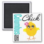 Columbus OH Chick Refrigerator Magnet