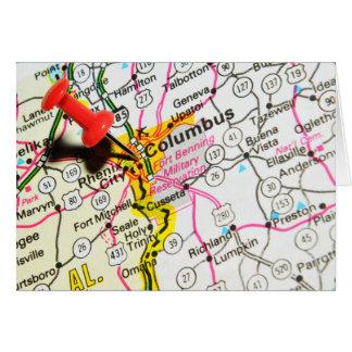 Columbus, Ohio Card
