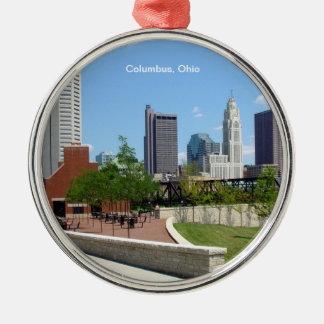 Columbus, Ohio Christmas Ornament