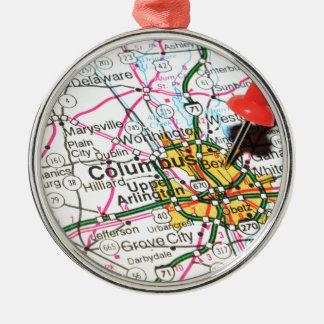Columbus, Ohio Christmas Ornament