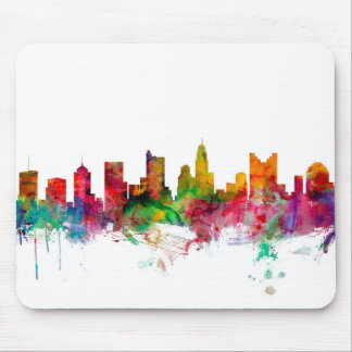 Columbus Ohio Skyline Mouse Mat