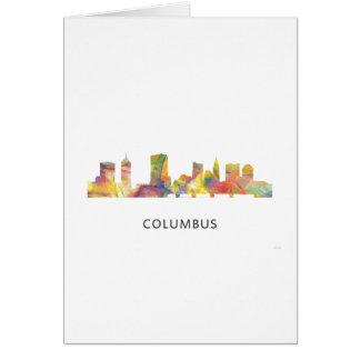 COLUMBUS, OHIO SKYLINE WB1 - CARD