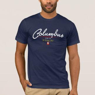 Columbus Script T-Shirt