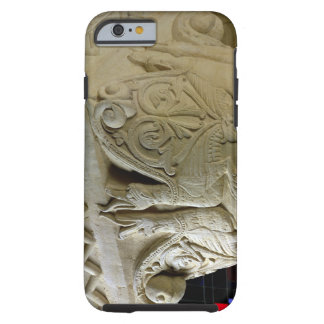 Column capital bearing symmetrically arranged grot tough iPhone 6 case
