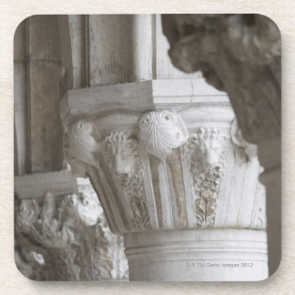 Column detail of the Doges' Palace Venice Italy Coasters