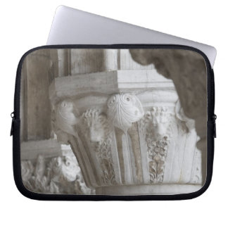 Column detail of the Doges' Palace Venice Italy Laptop Sleeve