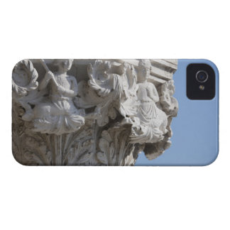 Column detail on the Doges' Palace Venice Italy iPhone 4 Case-Mate Cases