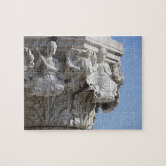 Column detail on the Doges' Palace Venice Italy Jigsaw Puzzle