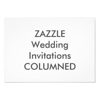 "COLUMNED 7"" x 5"" Wedding Invitations"