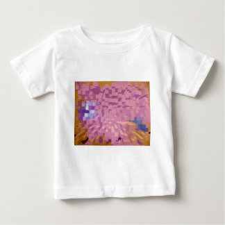Columns in pink baby T-Shirt