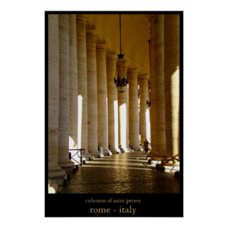 columns of saint peters poster