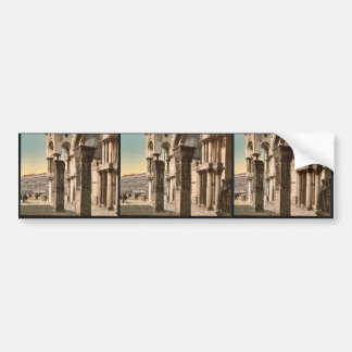 Columns of St. Mark's Church, Venice, Italy vintag Bumper Stickers