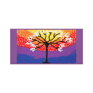 colurful tree canvas