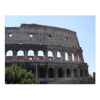 Colusseum, Rome, Italy Postcard