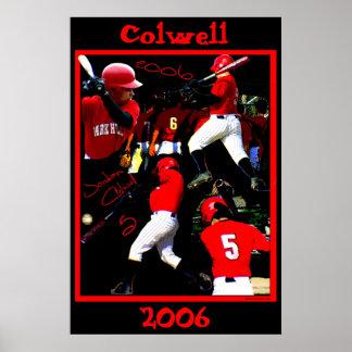 Colwell Freshman Baseball Poster