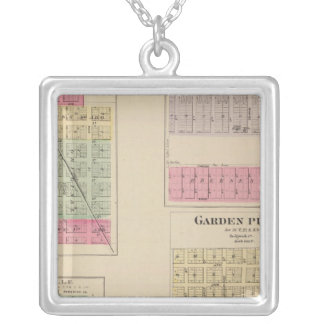 Colwich, Garden Plains, and Bayneville, Kansas Silver Plated Necklace