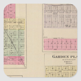 Colwich, Garden Plains, and Bayneville, Kansas Square Sticker