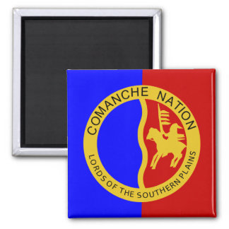Comaanche Nation Flag Magnet