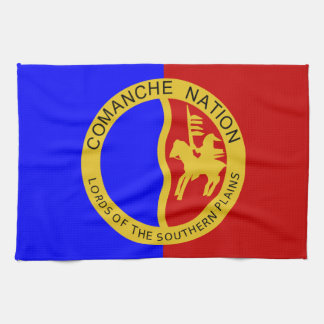 Comaanche Nation Flag Towels