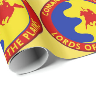 Comaanche Nation Flag Wrapping Paper