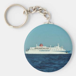 Comanav Ferry Basic Round Button Key Ring