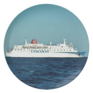 Comanav Ferry Plate