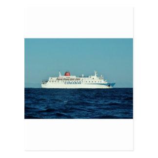 Comanav Ferry Postcard
