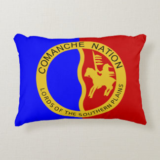Comanche Nation Flag Decorative Cushion
