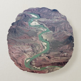 Comanche Point, Grand Canyon Round Cushion