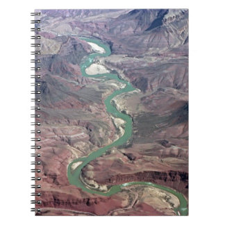 Comanche Point, Grand Canyon Spiral Notebook