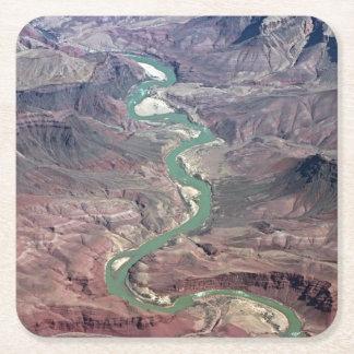 Comanche Point, Grand Canyon Square Paper Coaster